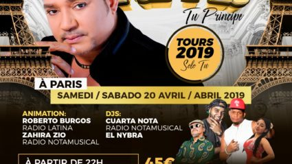 Frank Reyes en Paris 20 Avril 2019